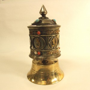 マニ車/チベット密教法具