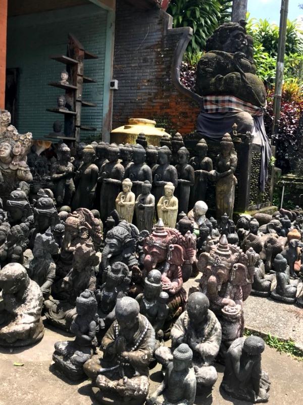 バリ島 石像