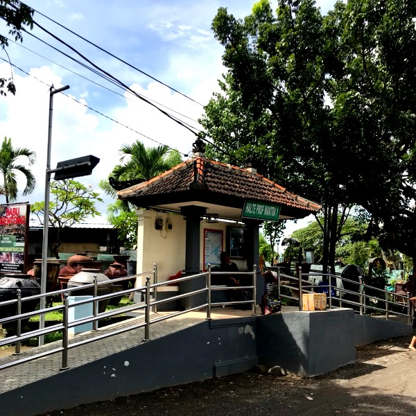 バリ島 バス停