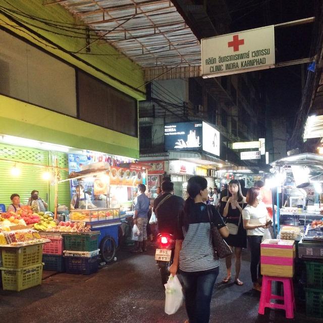 ナイトマーケット/バンコク