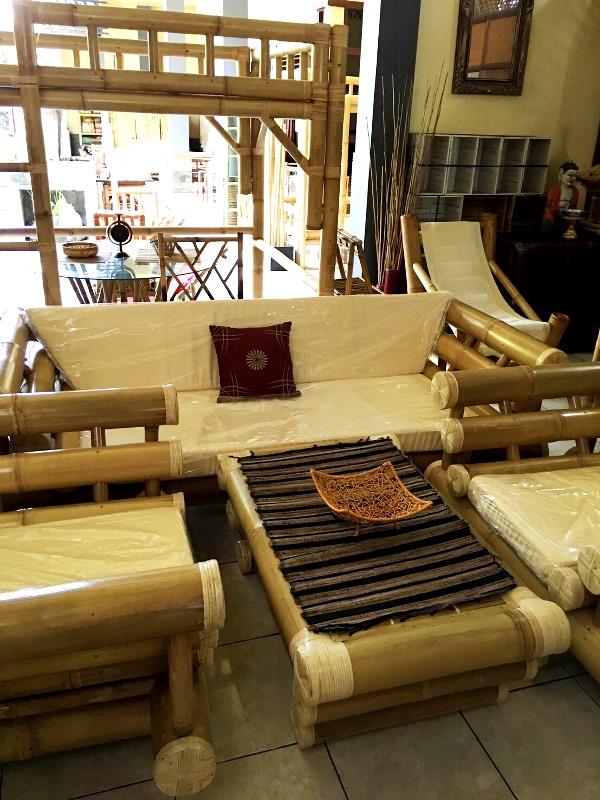 バンブー家具/バリ島