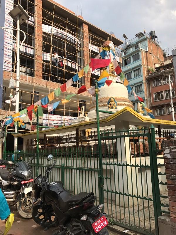 ネパール ストゥーパ