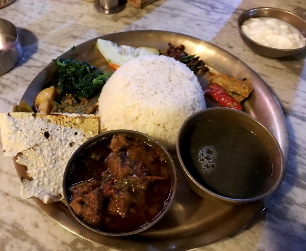ダルバート ネパール料理