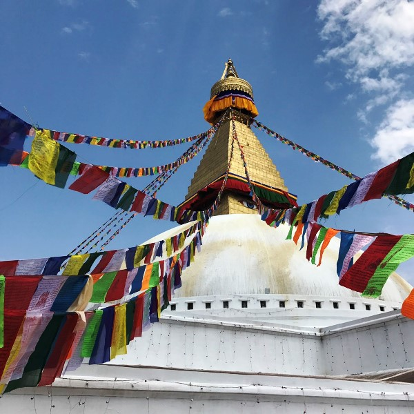 ネパール ボダナートストゥーパ