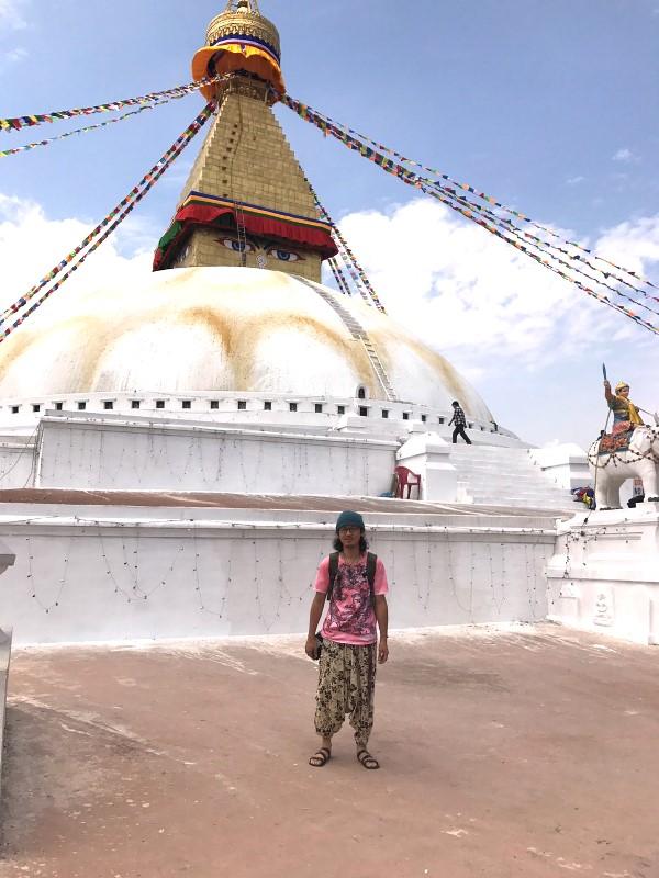 ボダナート・ストゥーパ ネパール