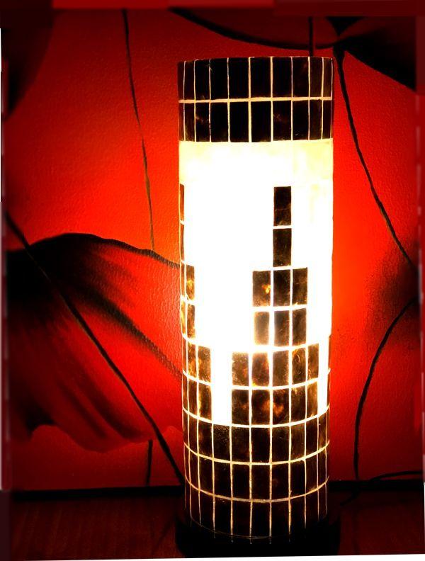 カピス貝ランプ/シェルランプ/間接照明/アジアンランプ