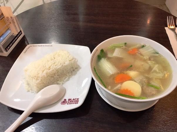 とうふと野菜のスープ/ゲーンチュートーフ―