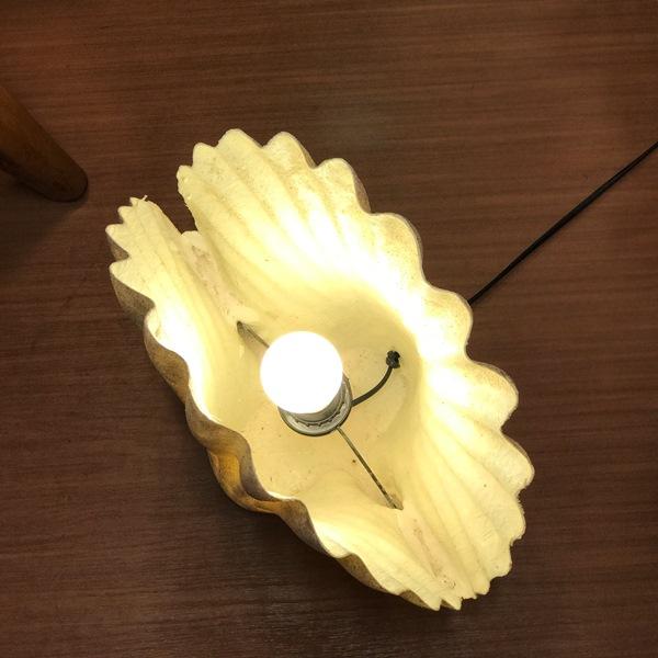 貝のランプ・シャコ貝のランプ