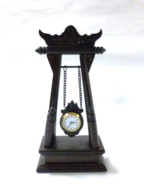 タイ文字時計